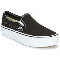 Topánky Ženy Slip-on Vans SLIP-ON PLATFORM Čierna