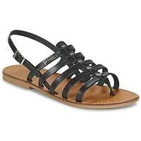 Topánky Ženy Sandále Les Tropéziennes par M Belarbi HERILO Čierna