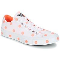 Topánky Ženy Nízke tenisky Converse Chuck Taylor All Star-Ox Biela / Oranžová
