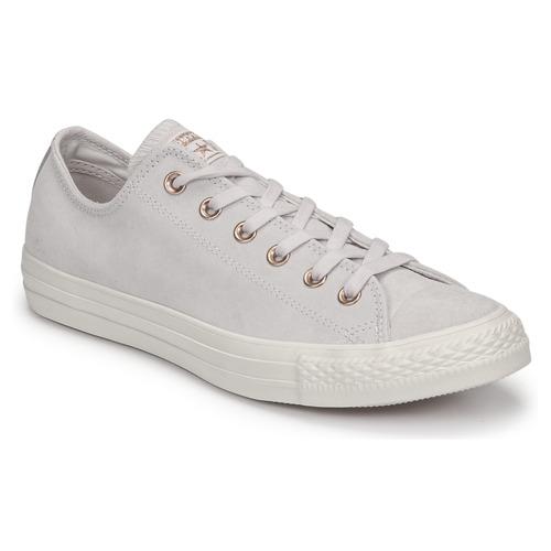Topánky Ženy Nízke tenisky Converse Chuck Taylor All Star-Ox Ružová / Biela