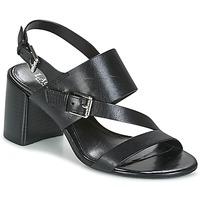 Topánky Ženy Sandále Lauren Ralph Lauren FLORIN Čierna