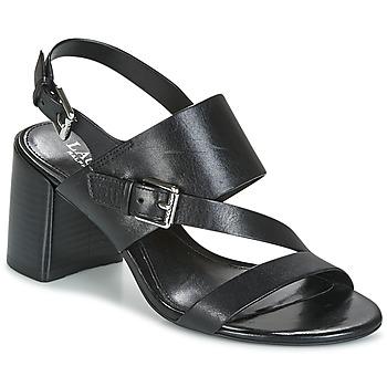 Topánky Ženy Sandále Ralph Lauren FLORIN Čierna