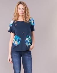 Oblečenie Ženy Tričká s krátkym rukávom Derhy BANGKOK Námornícka modrá