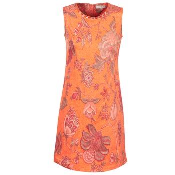Oblečenie Ženy Krátke šaty Derhy ANTILLAIGAN Oranžová