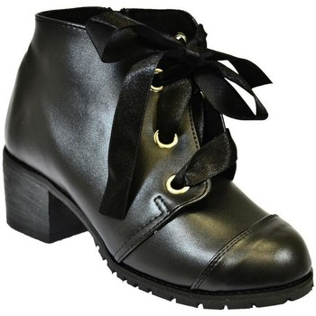 Topánky Ženy Čižmičky John-C Dámske čierne čižmy ESPATRA čierna