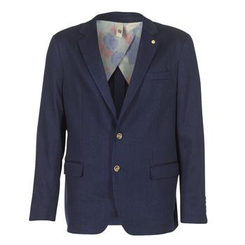 Oblečenie Muži Saká a blejzre Serge Blanco SUTTON Námornícka modrá