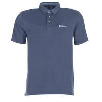 Oblečenie Muži Polokošele s krátkym rukávom Columbia NELSON POINT POLO Námornícka modrá