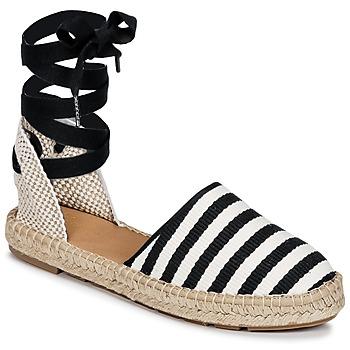 Topánky Ženy Espadrilky Betty London INANO Čierna / Biela