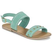 Topánky Ženy Sandále Betty London IKARI Modrá