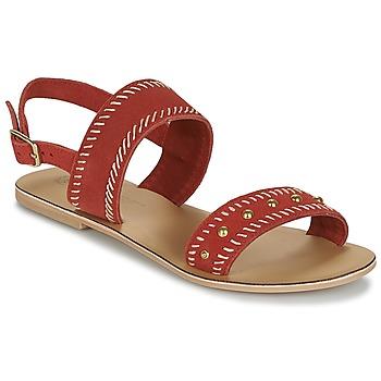 Topánky Ženy Sandále Betty London IKARI Červená