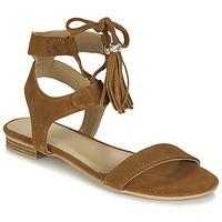 Topánky Ženy Sandále Betty London IKARA Hnedá
