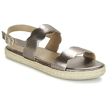 Topánky Ženy Sandále Betty London IKARO Strieborná