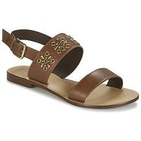 Topánky Ženy Sandále Betty London IKIMI Hnedá
