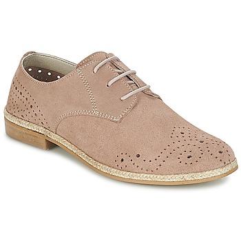 Topánky Ženy Derbie Betty London IKATA Ružová