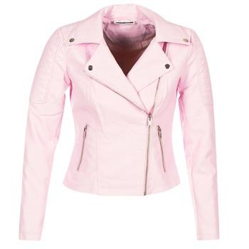 Oblečenie Ženy Kožené bundy a syntetické bundy Noisy May NMREBEL Ružová