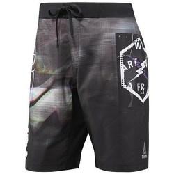 Oblečenie Muži Plavky  Reebok Sport Epic Lightweight Short Čierna, Sivá