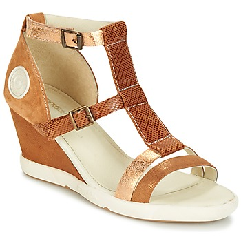 Topánky Ženy Sandále Pataugas WAMI-F2B Ťavia hnedá