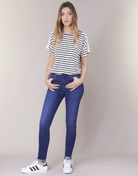 Oblečenie Ženy Džínsy Skinny Pepe jeans REGENT Modrá / Ce2 / Kryštály / Krýštál swarorsky