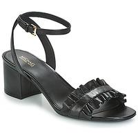 Topánky Ženy Sandále MICHAEL Michael Kors BELLA FLEX MID Čierna