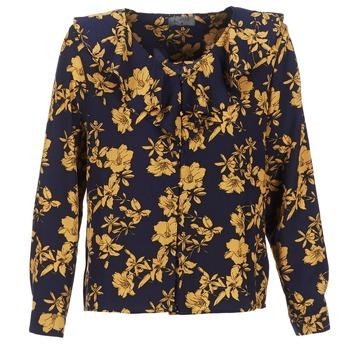 Oblečenie Ženy Blúzky Casual Attitude IDAFIL Námornícka modrá