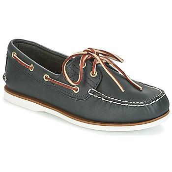 Topánky Muži Námornícke mokasíny Timberland CLASSIC 2 EYE Námornícka modrá / Smooth