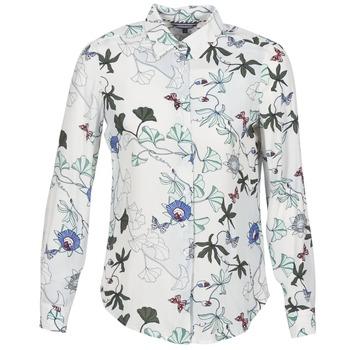 Oblečenie Ženy Košele a blúzky Tommy Hilfiger MIRAN-SHIRT-LS Biela