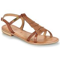 Topánky Ženy Sandále Les Tropéziennes par M Belarbi BELIE Svetlá hnedá