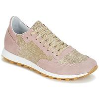 Topánky Ženy Nízke tenisky Yurban CROUTA Ružová / Zlatá