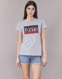 Oblečenie Ženy Tričká s krátkym rukávom Levi's THE PERFECT TEE Šedá