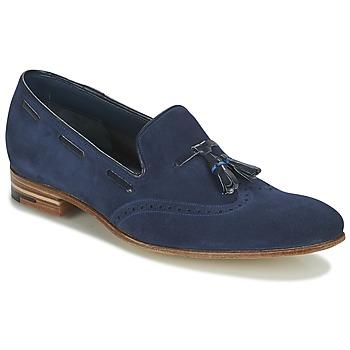 Topánky Muži Mokasíny Barker RAY Námornícka modrá