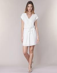Oblečenie Ženy Krátke šaty Le Temps des Cerises FORKATON Biela