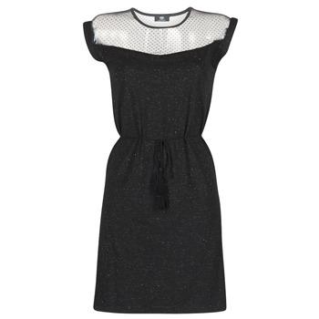 Oblečenie Ženy Krátke šaty Le Temps des Cerises JURIETO Čierna