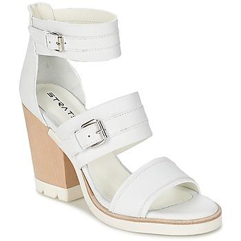 Topánky Ženy Sandále Strategia BARREA Biela