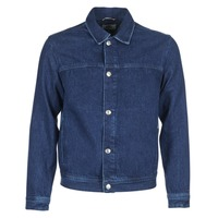 Oblečenie Muži Džínsové bundy Tommy Jeans TJM STREET TRUCKER JKT Modrá / Medium