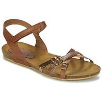 Topánky Dievčatá Sandále Kickers BONAVISTA Ťavia hnedá