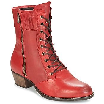 Topánky Ženy Čižmičky Dkode RONNIE Červená