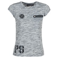 Oblečenie Ženy Tričká s krátkym rukávom Philipp Plein Sport SITTIN OVER HERE Šedá