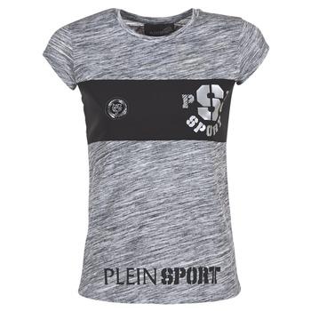 Oblečenie Ženy Tričká s krátkym rukávom Philipp Plein Sport THINK WHAT U WANT Šedá