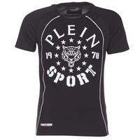 Oblečenie Muži Tričká s krátkym rukávom Philipp Plein Sport LIONEL Čierna / Biela