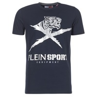 Oblečenie Muži Tričká s krátkym rukávom Philipp Plein Sport BORIS Námornícka modrá / Strieborná