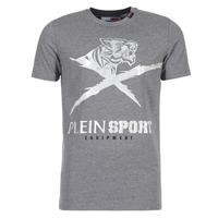 Oblečenie Muži Tričká s krátkym rukávom Philipp Plein Sport BORIS Šedá / Strieborná