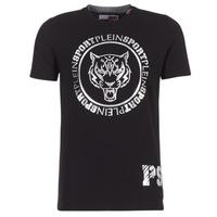 Oblečenie Muži Tričká s krátkym rukávom Philipp Plein Sport IVAN Čierna / Strieborná