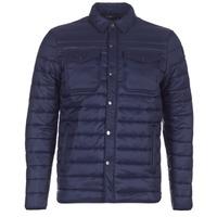 Oblečenie Muži Vyteplené bundy Schott NIELS Námornícka modrá