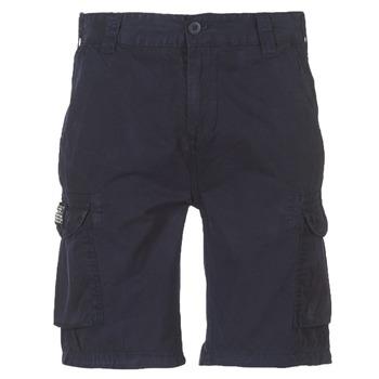Oblečenie Muži Šortky a bermudy Schott TROLIMPO30 Námornícka modrá