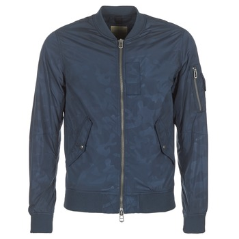 Oblečenie Muži Bundy  Teddy Smith BAILEY Námornícka modrá
