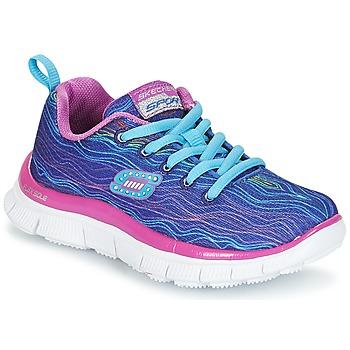 Topánky Dievčatá Univerzálna športová obuv Skechers Skech Appeal Prancy Dance Fialová