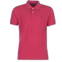 Oblečenie Muži Polokošele s krátkym rukávom Gant CONTRAST COLLAR PIQUE RUGGER Červená