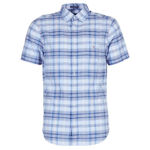 6624d223e3f3 Gant BLUE PACK MADRAS REG Modrá - Bezplatné doručenie so Spartoo.sk ...