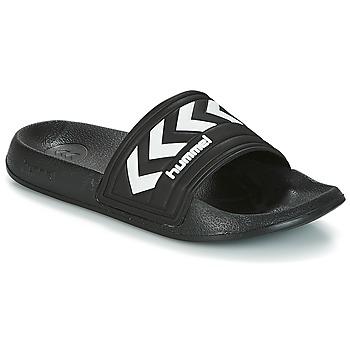 Topánky športové šľapky Hummel LARSEN SLIPPPER Čierna