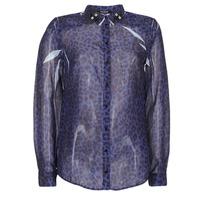 Oblečenie Ženy Košele a blúzky Guess BORICE Modrá